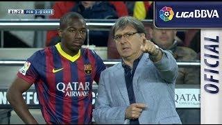 Debut de Adama Traoré con el primer equipo del FC Barcelona