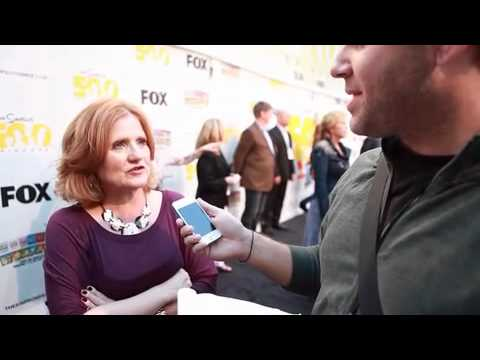 """We interview Nancy Cartwright at """"The Simpsons"""" 500th episode event"""