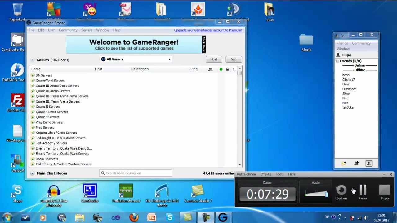 Gameranger — download.