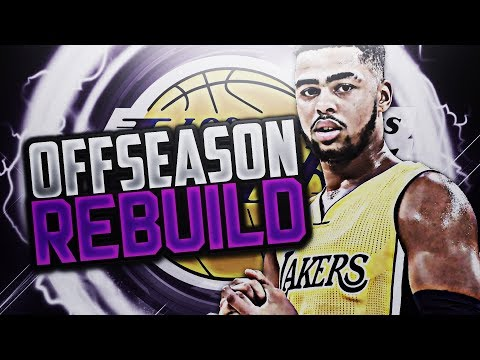 5 90 OVERALLS!? LAKERS OFFSEASON REBUILD! NBA 2K18!!