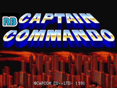 1991 [60fps] Captain Commando DEMO