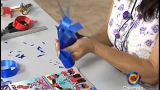 Repeat youtube video Como hacer moños para decorar regalos