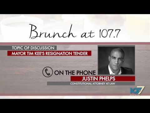 """""""Mayor Tim Kee's Resignation Tender"""" feat. Constitutional Attorney At Law, Justin Phelps Pt.1"""