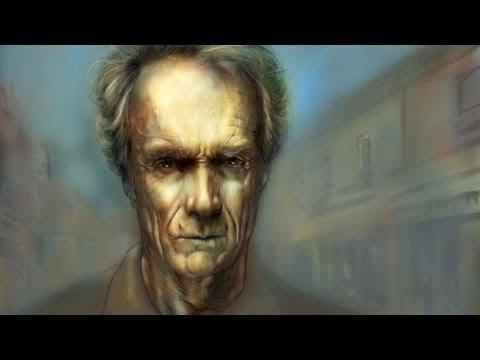 Clint EASTWOOD Portrait (Speedpainting)