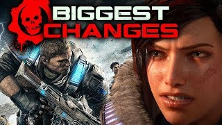 Gears 5 vs Gears of War 4: BIGGEST CHANGES