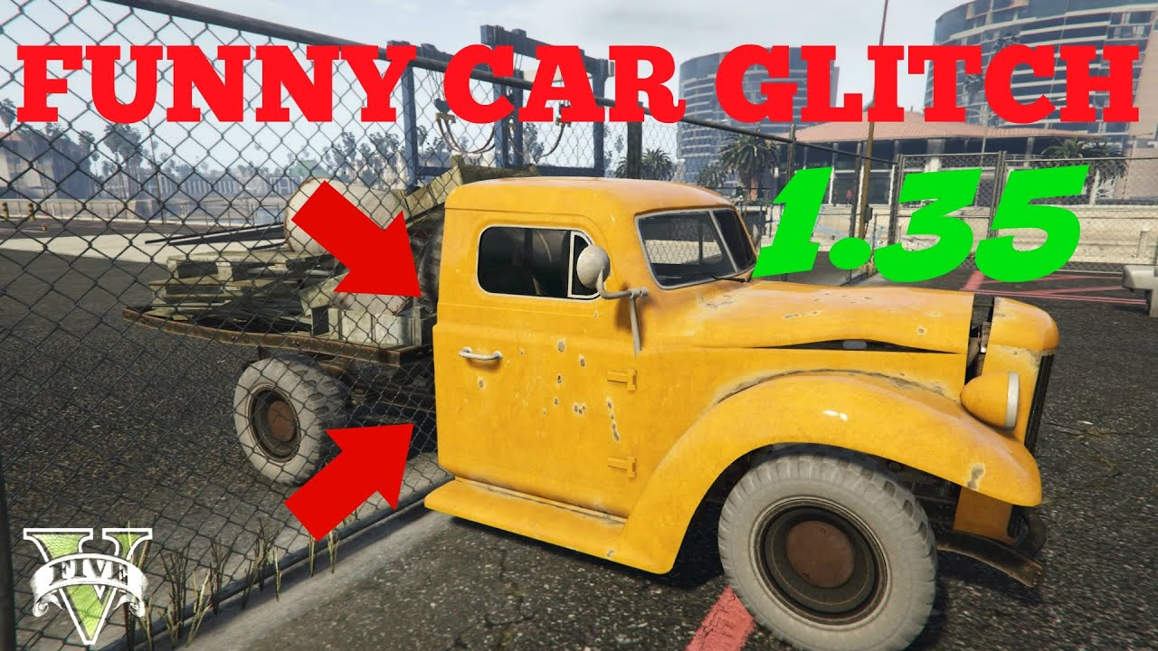 GTA 5 line New Car Glitch 1 35 SOLO Zaun im Auto