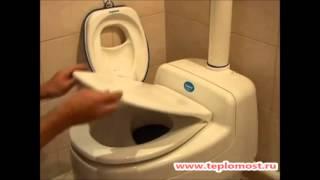 Установка компостного туалета Separett Villa