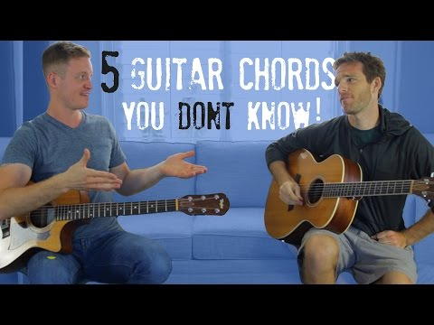 5 Guitar Chords You DON'T Know!
