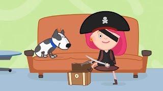 Смарта и Чудо-сумка - Мультики для детей - Пиратский клад - Развивающее видео