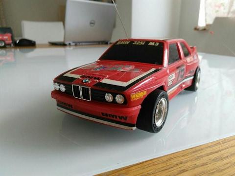 BMW 325i M3 RC Taiyo Radio-Racer  80's Vintage