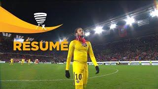 Stade Rennais FC - Paris Saint-Germain (2-3)  (1/2 finale) - Résumé - (SRFC - PARIS) / 2017-18