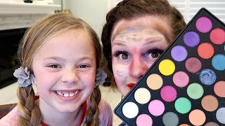 Daughter Does My Makeup CHALLENGE