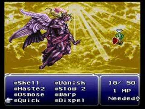 Final Fantasy Vi Kefka Terra Level 6 Solo Part 33 Youtube