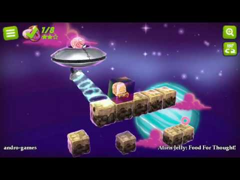 Alien Jelly: Food For Thought (by Collective Mass) - puzzle game for android - gameplay.