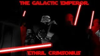 Roblox {TSO} Attacking sith imperial {high rank}/Also dueling with my friend