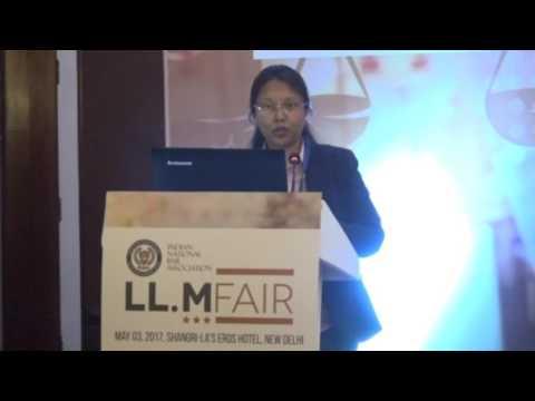 Attorney. Ms. Vasundhra Prasad's Speech on Global Legal Trends.