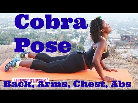 yoga cobra pose to flatten your belly  strengthen your