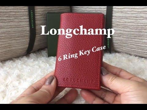 Alternative To The LV Key Holder | Longchamp 6 Ring Key Case Holder | What fits