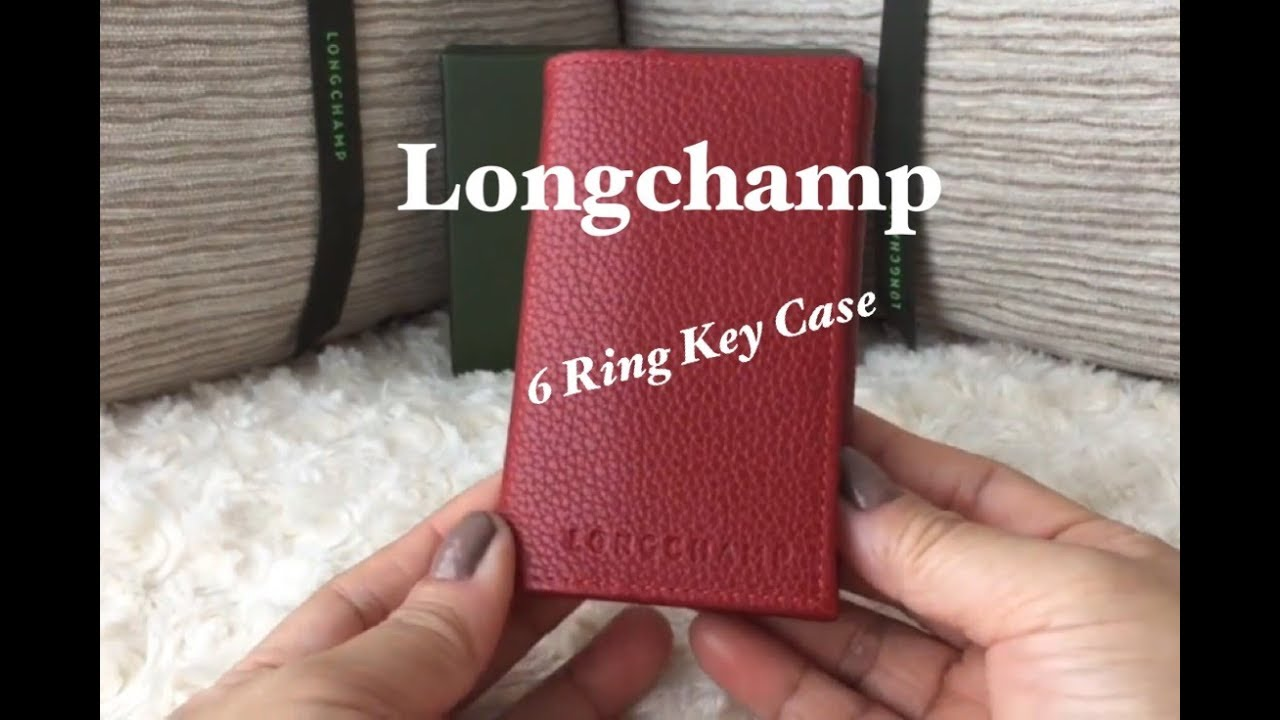 2662cfb79a Alternative To The LV Key Holder | Longchamp 6 Ring Key Case Holder | What  fits