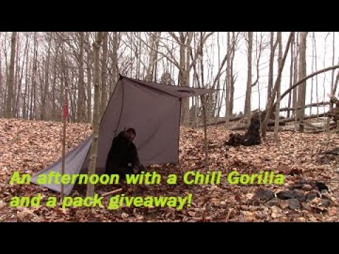 6 Chill Gorilla Tarp Shelters In 6 Minutes, Coffee, And A Give Away