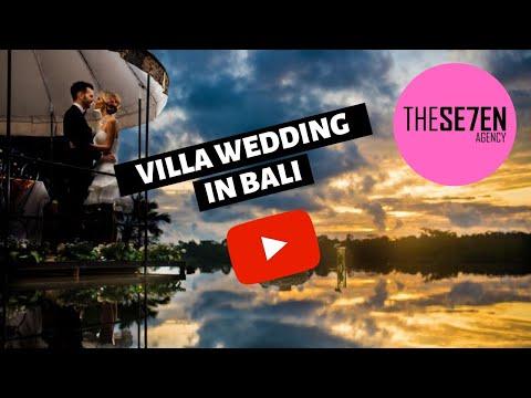 Waka Gangga wedding. Villa wedding in Bali
