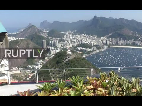 LIVE: Olympic torch to arrive on Rio's Sugarloaf Mountain