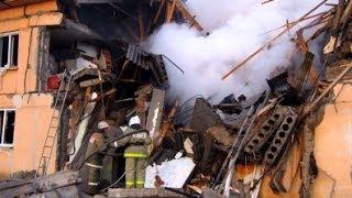 Взрыв газа в Омской области: 4 человека под завалами