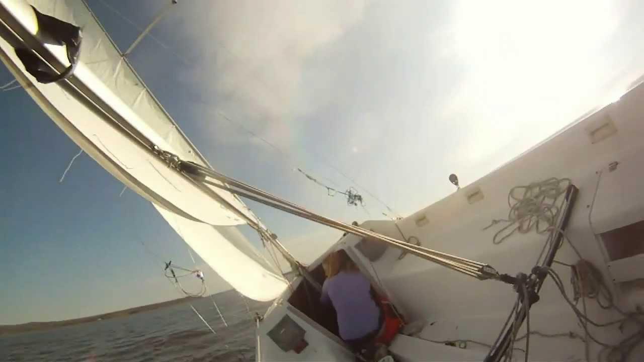 hunter 22 sailboat november ride