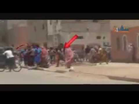 Polisario member hit his friend in the head to accuse moroccan police of brutality