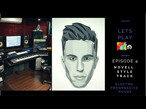 Lets Play Ableton Live Episode 4 Nicky Romero Novell Style Track