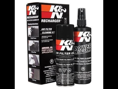 How to: Clean a K&N Air Filter with the K&N Recharge Kit