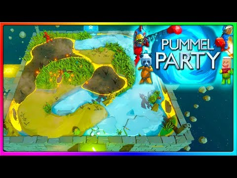THE BEST GAME OF PUMMEL PARTY EVER! | Pummel Party Gameplay With The Crew