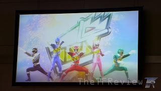 Power Rangers DINO CHARGE TRAILER (2015) from Power Morphicon 2014