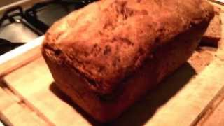 Wholemeal Spelt Fig And Walnut Bread