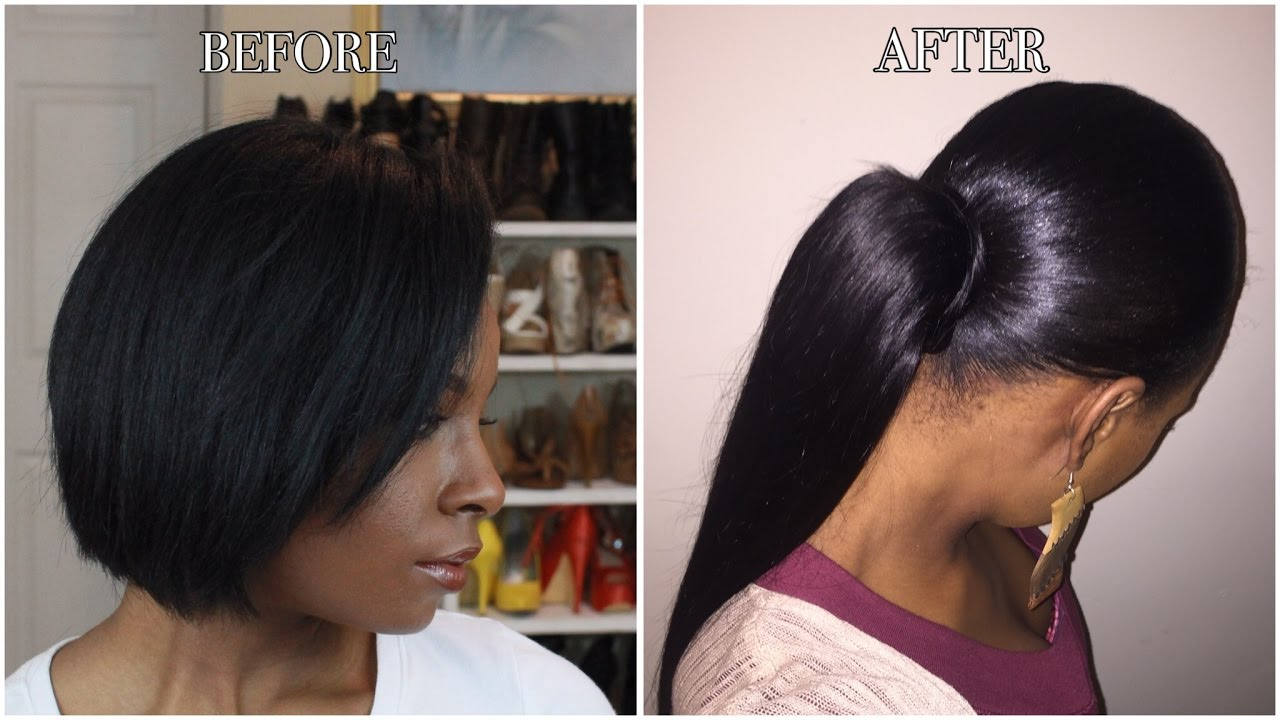 How to sleek ponytail on short natural hair youtube how to sleek ponytail on short natural hair pmusecretfo Image collections
