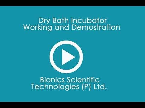 Dry Bath Incubator Working And Demostration