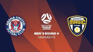 SEQ FPL Men's R4 - Arana United vs. Magic City Pirates Highlights