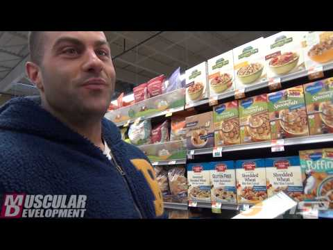 IFBB Pro Evan Centopani | grocery shopping and nutrition