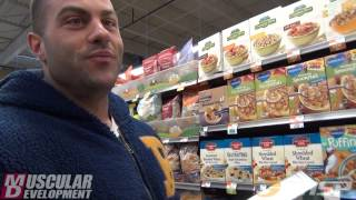 ifbb pro evan centopani   grocery shopping and nutrition