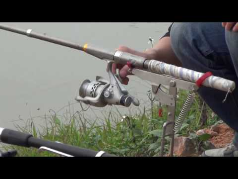 Coolnice Automatic Fishing Rod Holder Demo