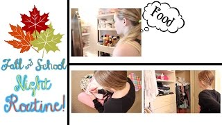 Fall/School Night Routine! | Avrey Elle Thumbnail