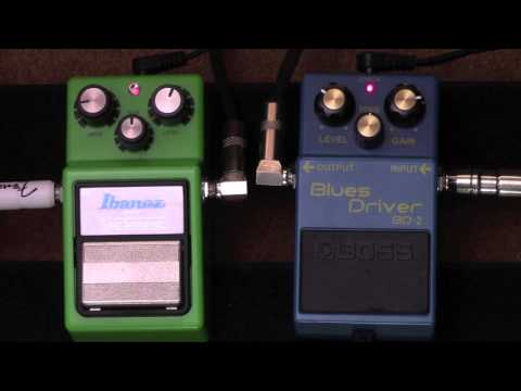 The Overdrive Pedal Experiment - Stacking Popular Overdrive Pedals