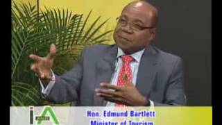 ISSUES AND ANSWERS WITH MIN OF TOURISM EDMUND BARTLETT