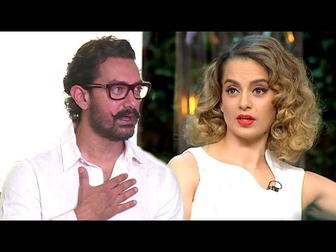 Aamir Khan's BEST Reply To Kangana's Nepotism Comment On Koffee With Karan Season 5