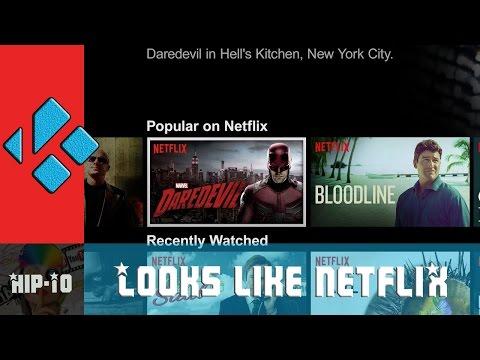 How to make your Kodi look like Netflix!!