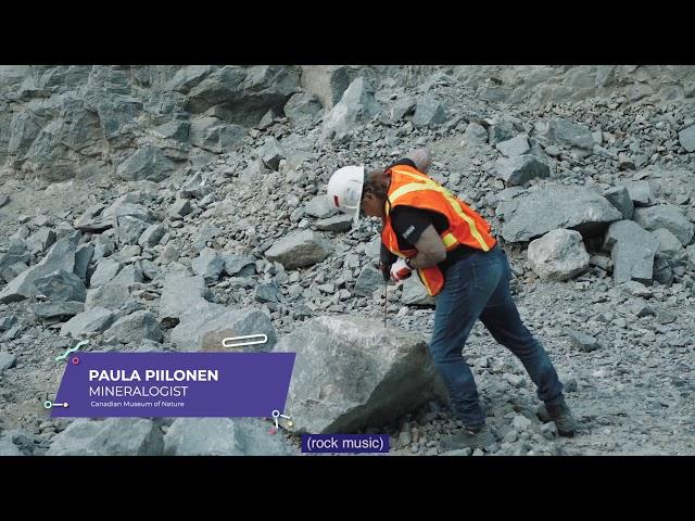Paula Piilonen - Mineralogist