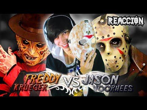 Freddy Krueger vs Jason Voorhees. Batalla de Rap. Keyblade (VÍDEO REACCIÓN)