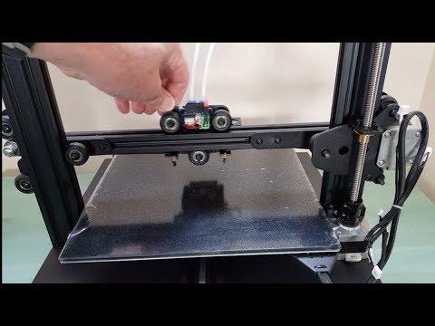 Imprimante 3D Geeetech A20M deux couleurs - Montage, réglage et tests