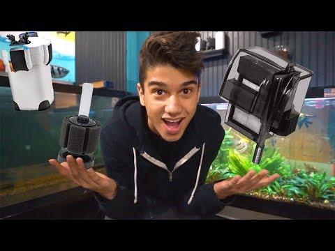 Best 3 Aquarium Filter Types!!