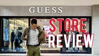 GUESS Men Store Review 2018 (FAIL)